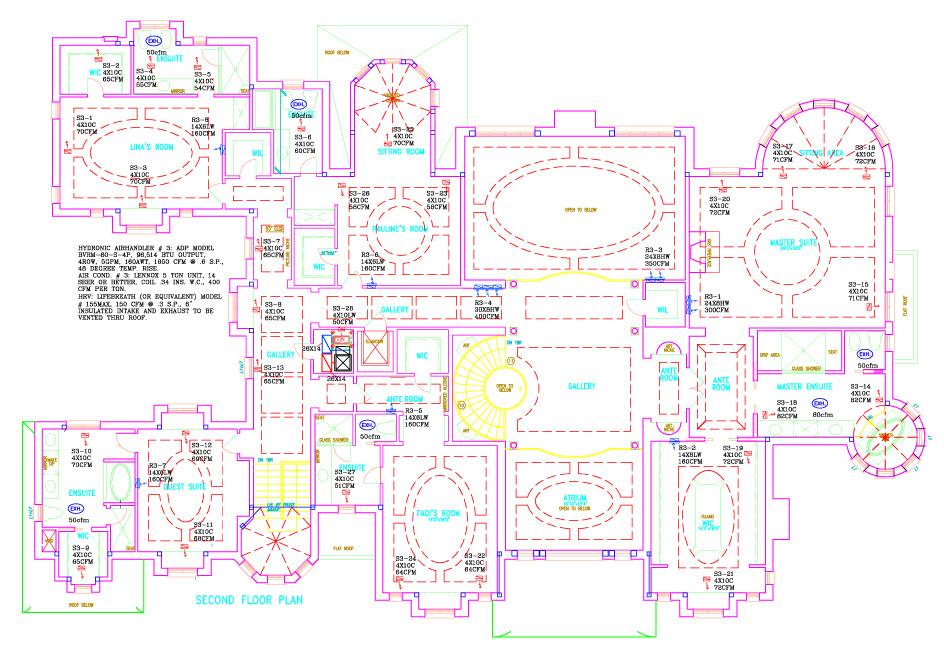 Residential Hvac Drawing | Wiring Diagram
