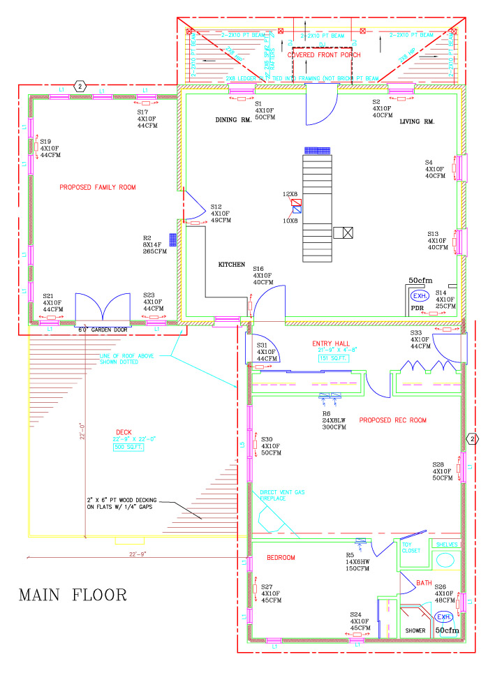 Residential Hvac Drawing - Today Wiring Schematic Diagram